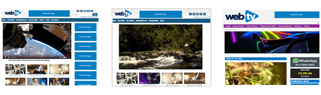 SITE WEB TV